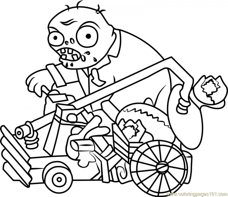 Get This Plants Vs Zombies Coloring Pages To Print Online U9562