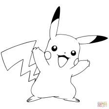 Pokemon Pikachu Coloring Pages yah59