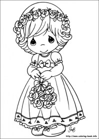 Precious Moments Coloring Pages Free for Toddlers 7sgah