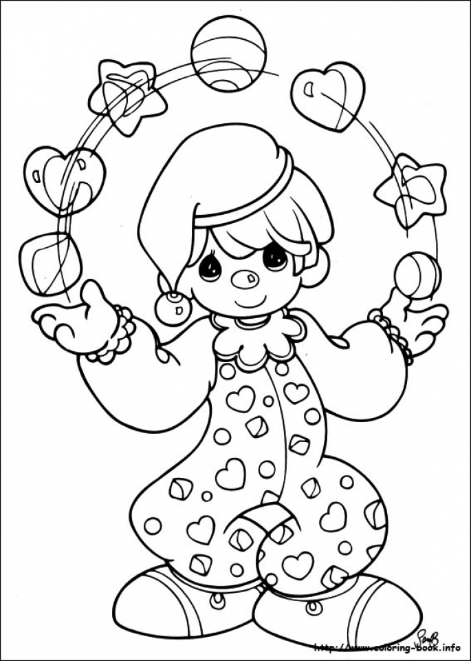 Get This Precious Moments Coloring Pages To Print Out 31452 !