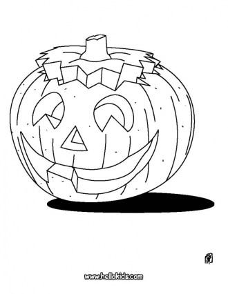 Pumpkin Halloween Coloring Pages for Preschoolers 77491