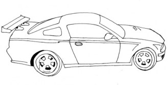 Race Car Coloring Pages Printable pnmj9