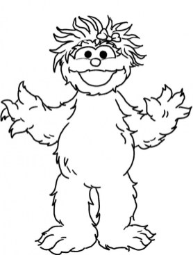 Sesame Street Coloring Pages for Kids 0vhr0
