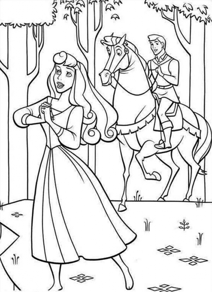 Get This Sleeping Beauty Coloring Pages Disney Princess 5twmc