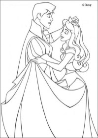 Sleeping Beauty Coloring Pages Printable 3ydm0