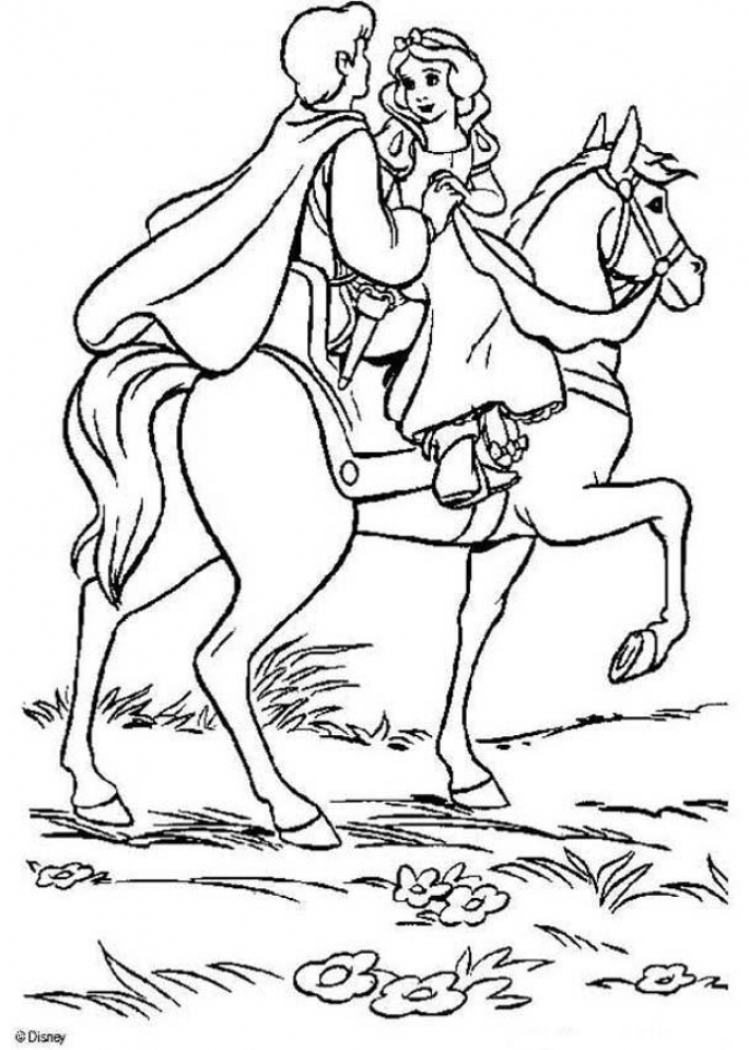 Snow White Coloring Pages Online   way41