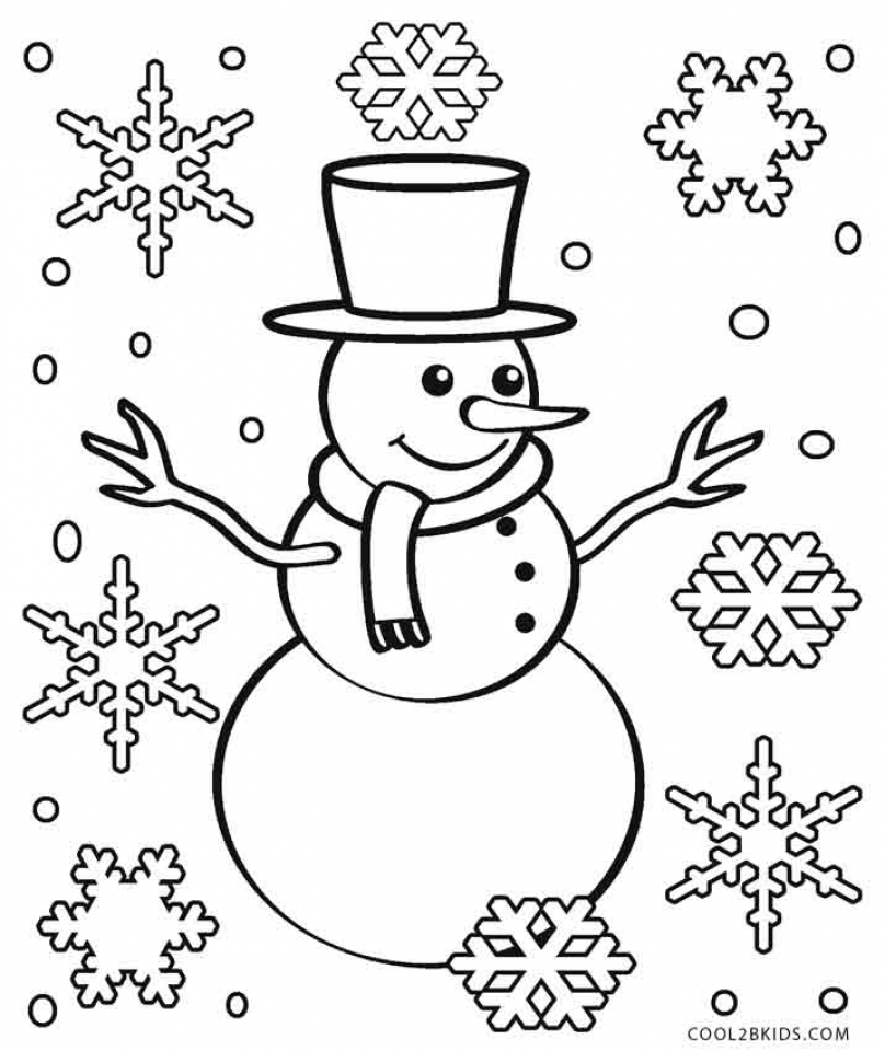 Snowflake Coloring Pages Printable   16382