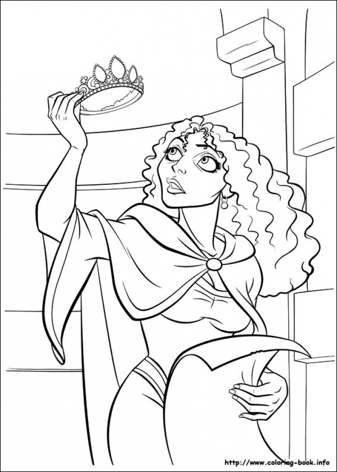 - Get This Tangled Coloring Book Pages Tcs3 !
