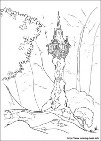 Tangled Coloring Book Pages tdf21