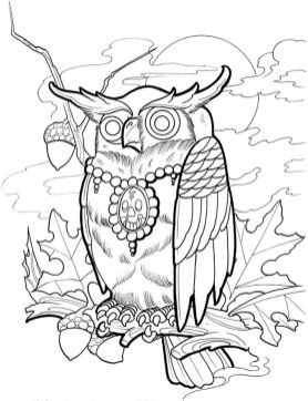 tattoo design coloring pages - 33162