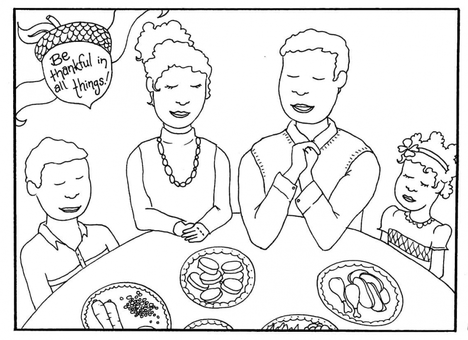 Thanksgiving Coloring Book Pages for Kids   7sbf5