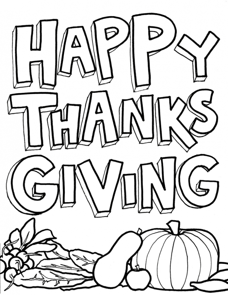 Thanksgiving Coloring Pages for Preschoolers   icv43
