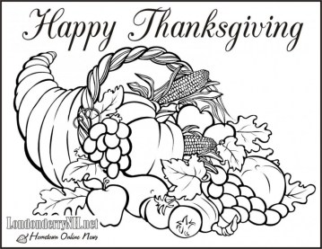 Thanksgiving Coloring Pages to Print 77401