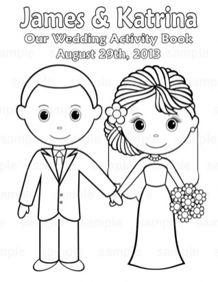 Wedding Coloring Pages Free 16aq8