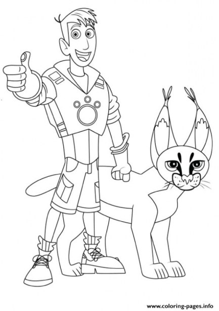 Wild Kratts Coloring Pages to Print ydg49