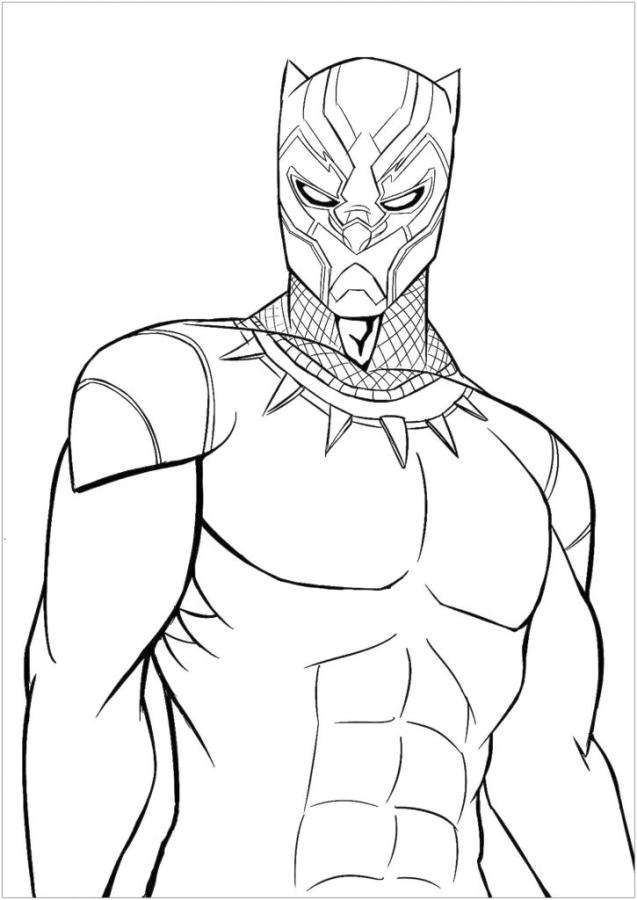 Black Panther Coloring Pages epc5