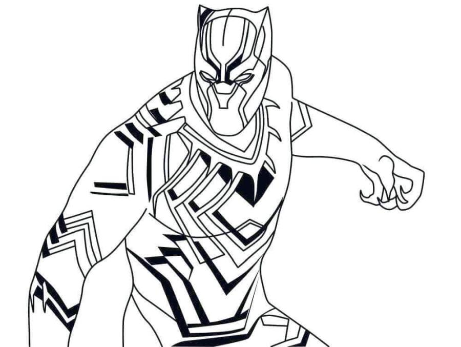 Get This Black Panther Coloring Pages for Kids grt4