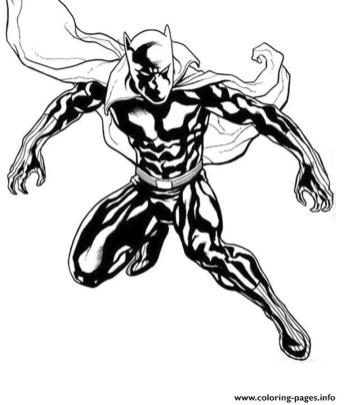 Black Panther Coloring Pages to Print fyl9