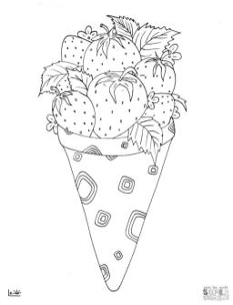 Ice Cream Coloring Pages 893b