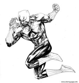Marvel Black Panther Coloring Pages ghf6