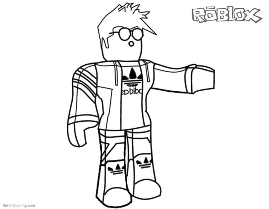 Roblox Coloring Pages Free nrd4