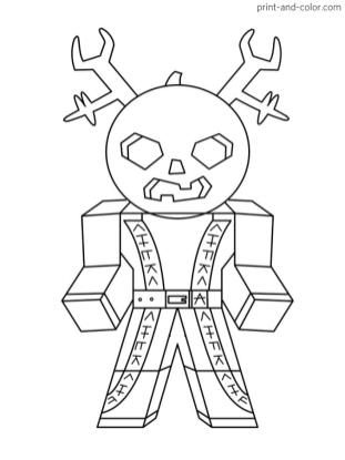 Roblox Coloring Pages to Print mnt9