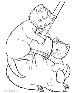 cat coloring pages free to print vn60c