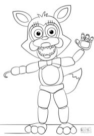 fnaf coloring pages mn07