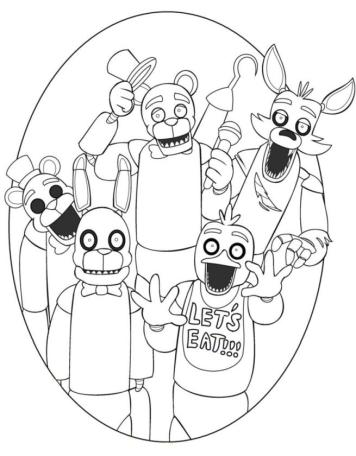 Learn How to Draw Springtrap from Five Nights at Freddy's (Five ... | 456x356