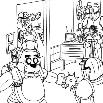 fnaf coloring pages to print jd71