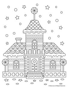 Adult Christmas Coloring Pages Printable gbr0