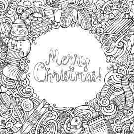 Adult Christmas Coloring Pages ddl2