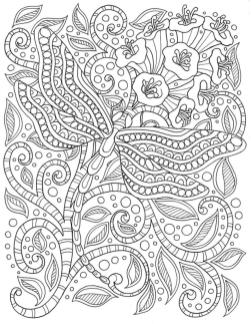 Adult Coloring Pages Patterns Flowers Free Printable otx0