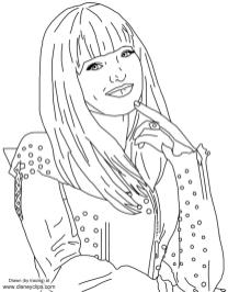 Descendants Coloring Pages Free mal8
