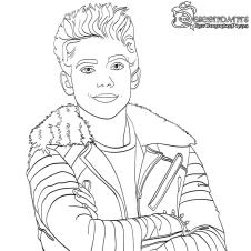 Descendants Coloring Pages Printable spk4
