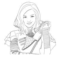 Descendants Coloring Pages gbh4
