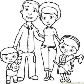 Doc McStuffins Coloring Pages for Girls fml5