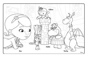 Doc McStuffins Coloring Pages for Kids frd7
