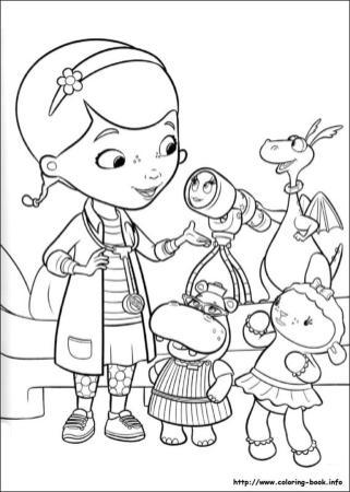 Doc McStuffins Coloring Pages hpo5