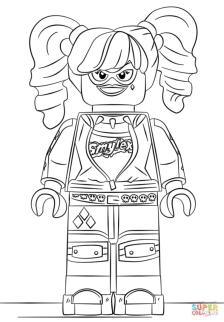 Harley Quinn Coloring Pages Printable 7lgo
