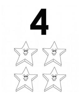 Star Coloring Pages Educational Printable for Kids