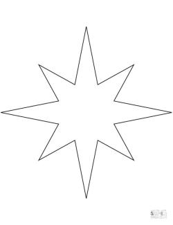 Star Coloring Pages to Print