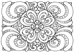 Adult Coloring Pages Patterns Zen and Anti stress 2vbn