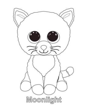 Beanie Boo Coloring Pages Free 6def