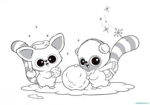 Beanie Boo Coloring Pages Printable 4rgt