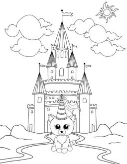 Beanie Boo Coloring Pages for Kids njb9