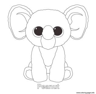 Beanie Boo Coloring Pages to Print 8plm