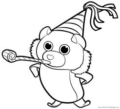 Funny Ty Beanie Boo Coloring Pages Online 5xdr