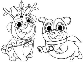 Puppy Dog Pals Coloring Pages Free 0uyh