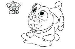 Puppy Dog Pals Coloring Pages Free 9fdx